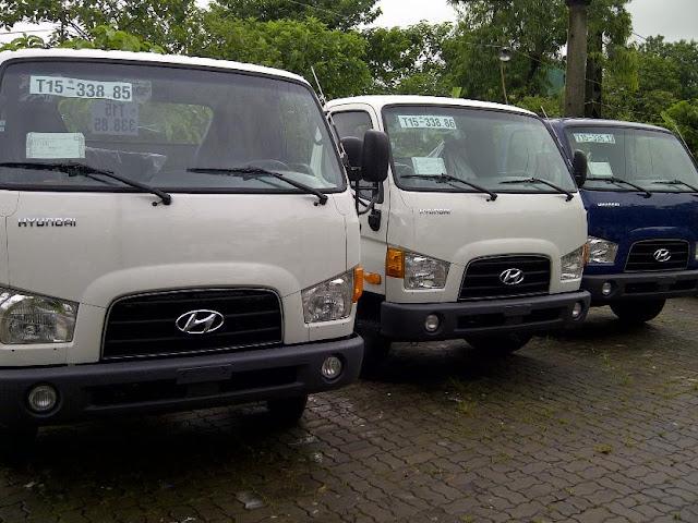 Hyundai HD72 3,5 tấn