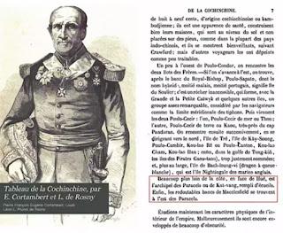 """Sách """"Phong cảnh xứ Đàng Trong"""" (Tableau de la Cochinchine) do E.Cortambert và Léon de Rosny biên soạn, xuất bản tại Paris năm 1862 ghi rõ: """"Đối diện với Huế là quần đảo Paracels, tức là Kat-vang (Cát Vàng)""""."""