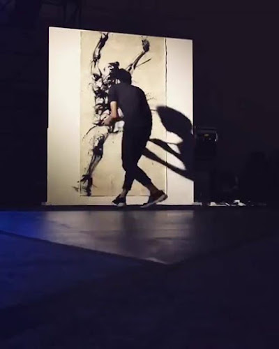 This Japanese artist got inspired after watching us skate Amazing j_butt