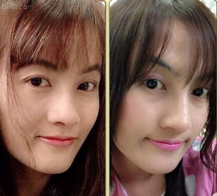 #Hình_ảnh_khách_hàng: Xinh bất ngờ chỉ với 1 thay đổi ;)