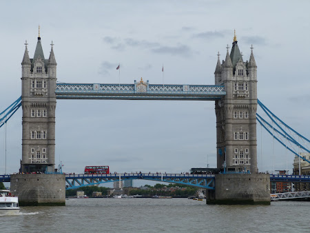 Obiective turistice Londra: Tower Bridge