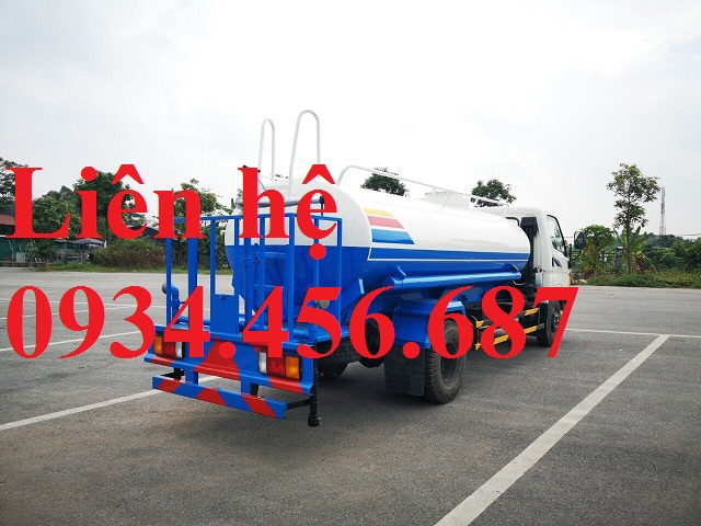 Xe xitec chở nước New Mighty 2017 Hyundai HD800