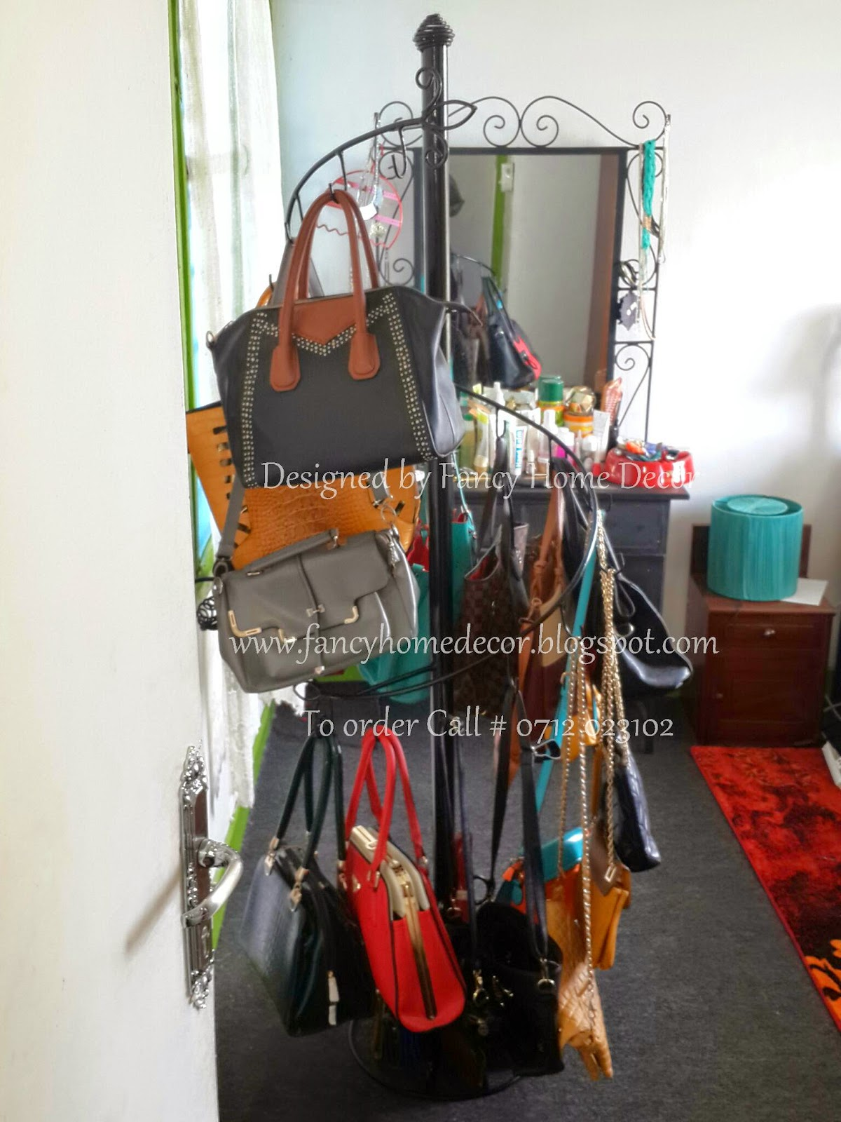 Stylish Kitchen Cabinets Fancy Home Decor My Project Shoe Rack Handbag Stand