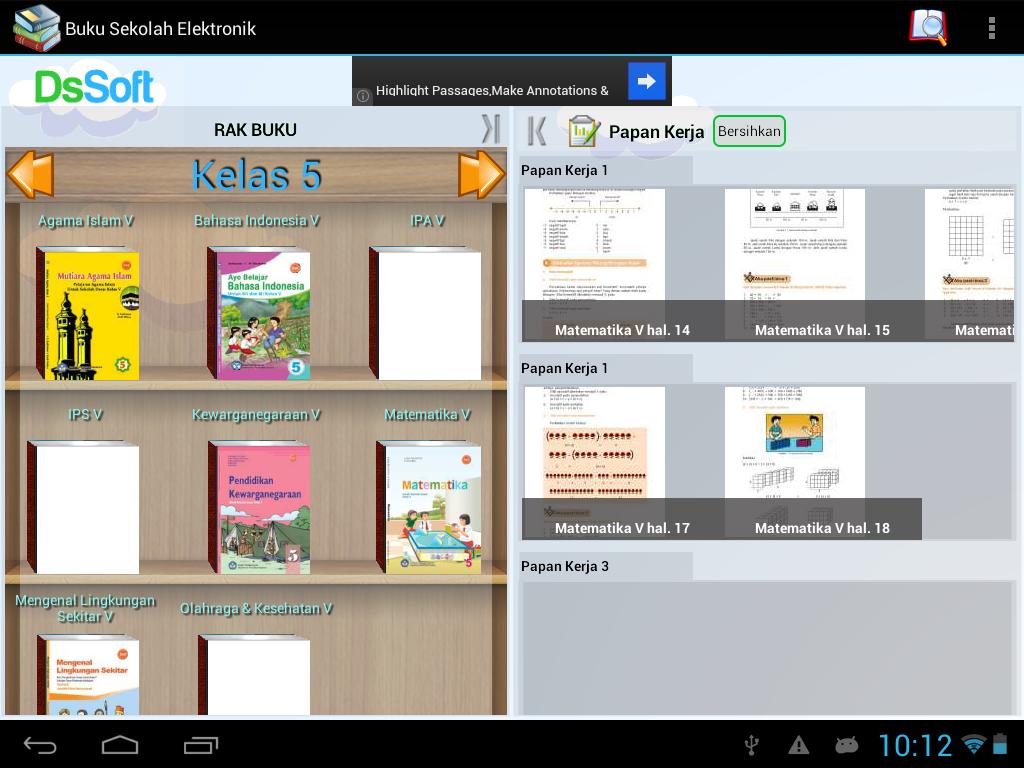 BSE SMP Kelas 8 - screenshot