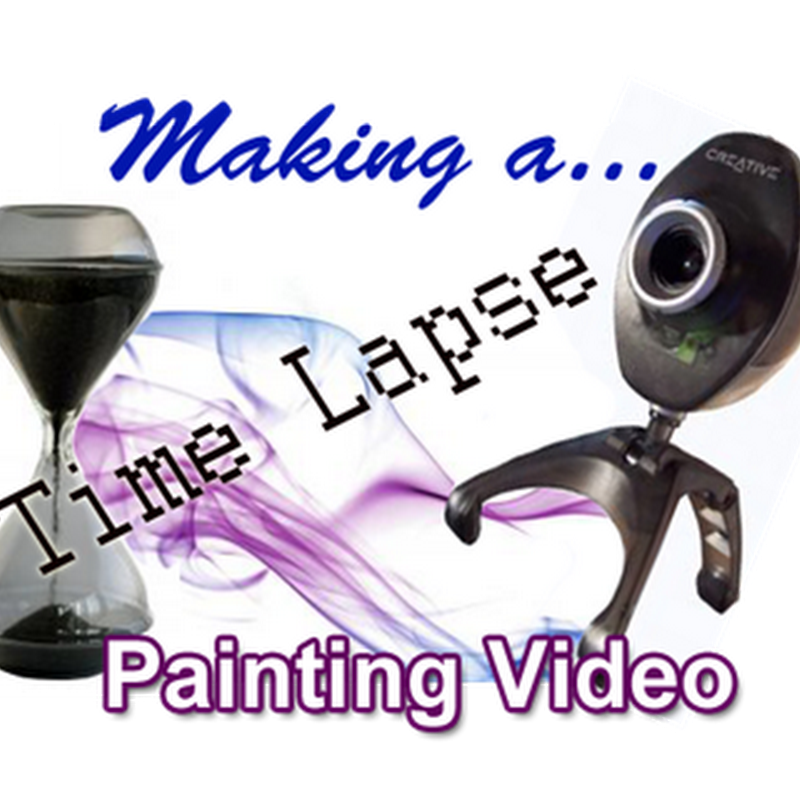 How to Make a Time Lapse Speed Painting Video Demonstration