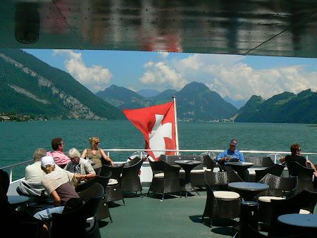 Imagini Elvetia: pe lacul Luzern