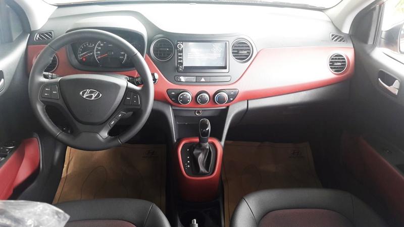 Nội thất xe Hyundai Grand i10 Hatchback 5 Cửa Màu Đỏ 01