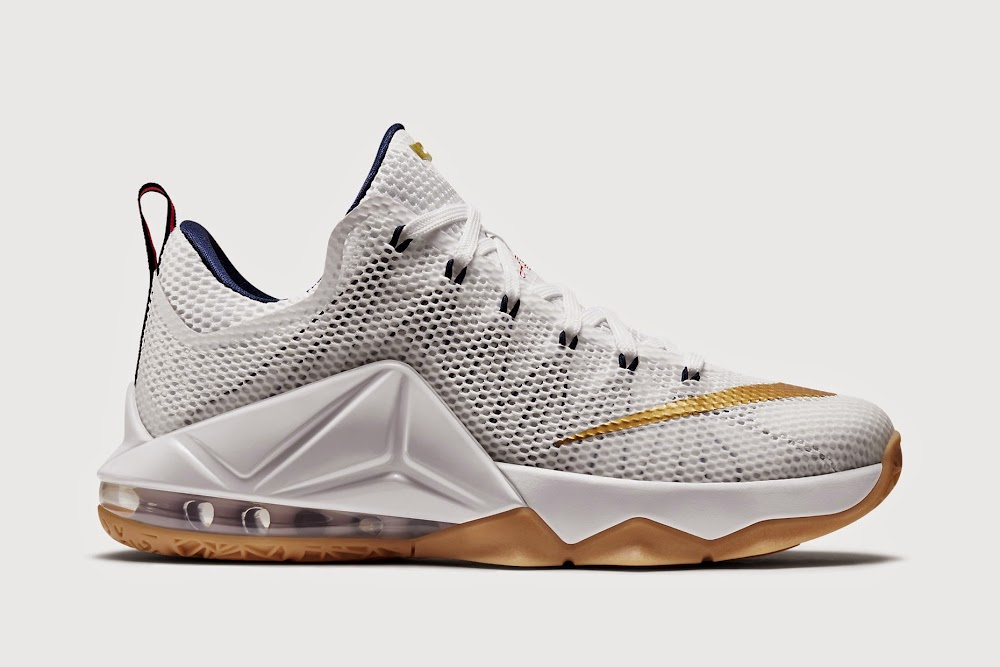 classic fit 1c54e 7fc3e ... Release Reminder Nike LeBron XII Low 8220USA8221 ...
