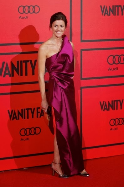 Nuria March attends the Vanity Fair 5th anniversary party