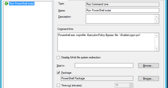 MINDCORE BLOG: Running PowerShell from Task Sequence