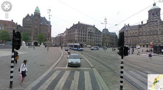 Wide outside lane