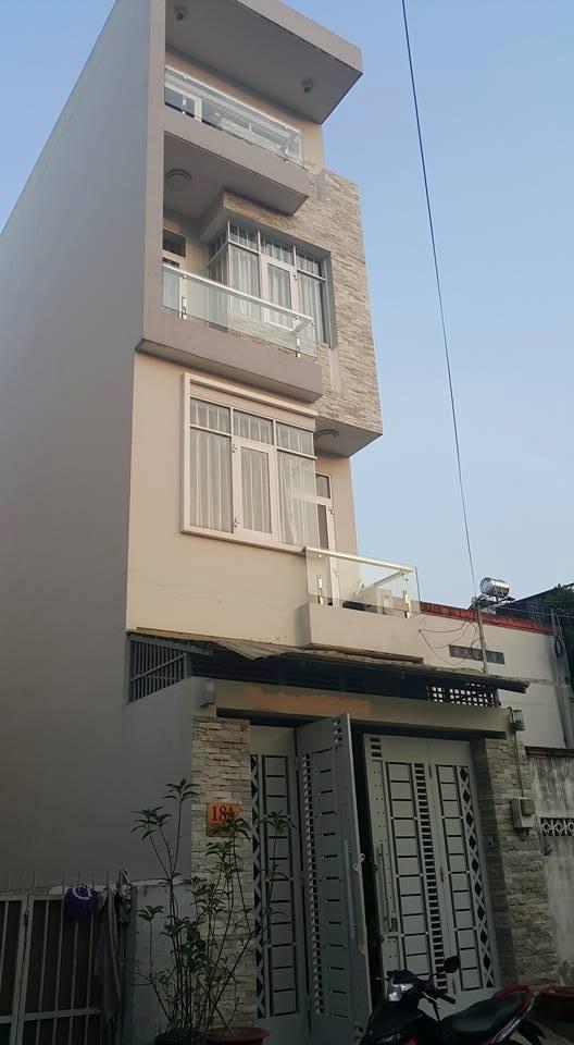 Bán nhà 3,5 tấm Mặt Tiền đường Trần Quang Cơ, phường Phú Thạnh, Quận Tân Phú, Thành Phố Hồ Chí Minh.