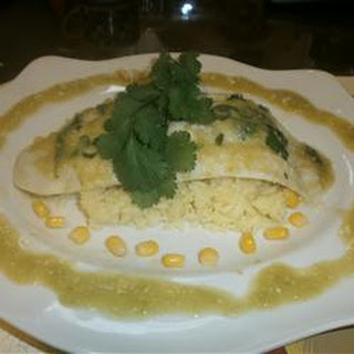 Basa Fillets in Tomatillo Sauce.