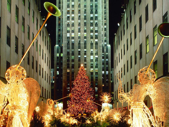 christmas lights in new york