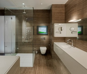 Reformas en baño al estilo contemporaneo