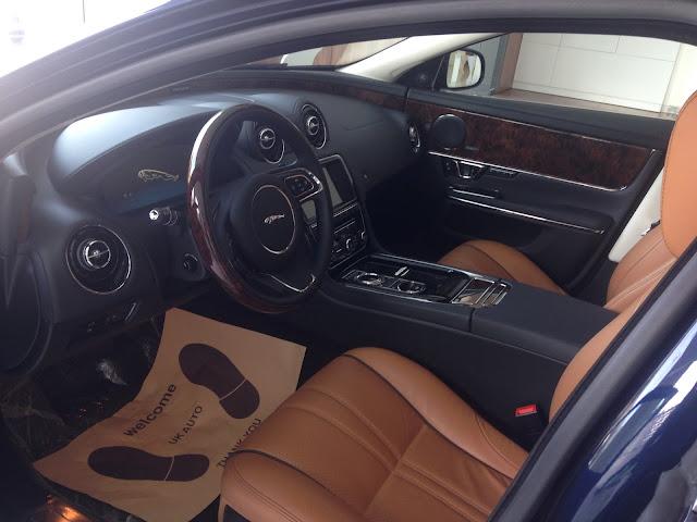 Nội thất xe Jaguar XJL Premium Luxury LWB 02