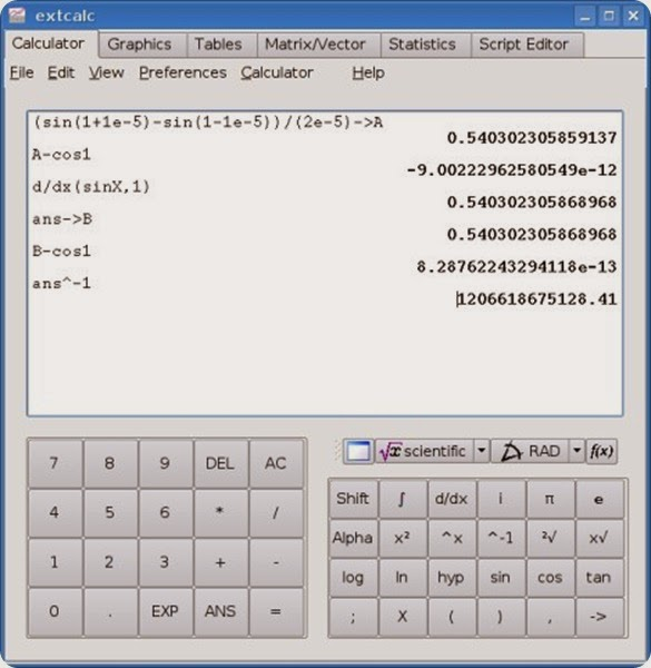 Concalc Is A Calculator For The Linux Console Linuxlandit The