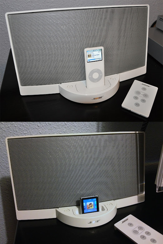 iPod nano + Bose SoundDock