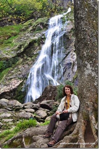 Powerscourt. Catarata. Carmen - DSC_0057