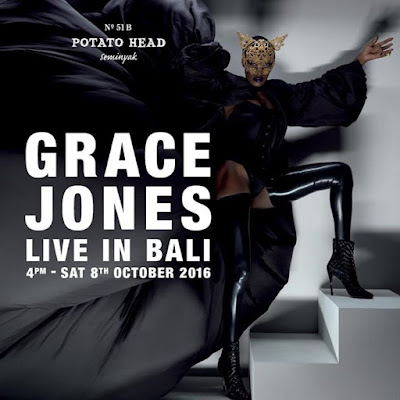 Grace is coming to Indonesia for an electric live show at Balis