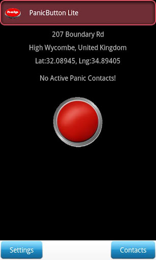 My Red Panic Button Lite