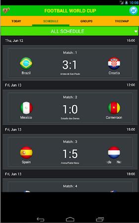 Football World Cup Live Score 1.6 screenshot 58189