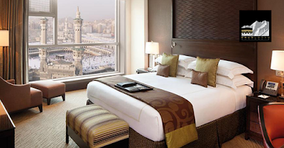 Relax within gazing distance of Masjid AlHaram and Masjid AnNabawi in 5