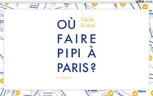 Where to pee in Paris?- screenshot thumbnail