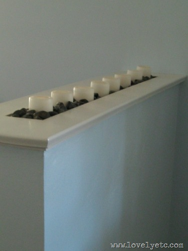 candle room divider