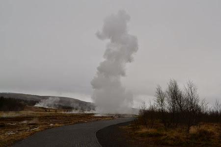 Obiective turistice Islanda: Marele Geysir