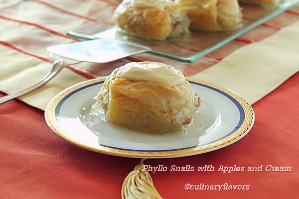 Phyllo Snails with Apples and Cream.JPG
