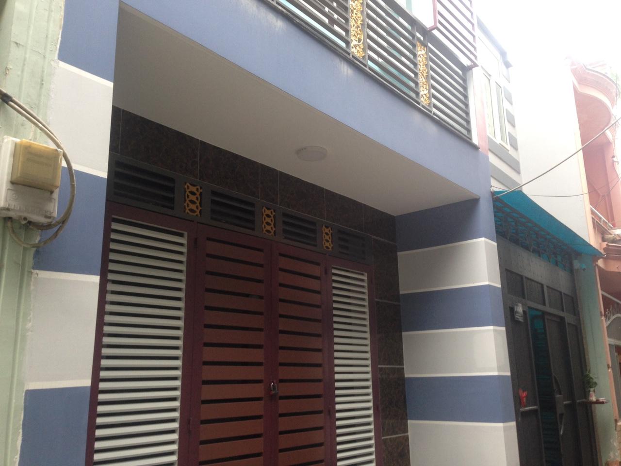 Bán nhà hẻm 146 kênh Tân Hóa Quận Tân Phú 07