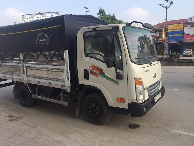 Xe tải Daehan 2,5 tấn thùng bạt