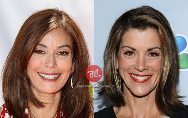 Celebrity Look-alikes: Wendi Malick Teri Hatcher