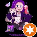 purplehairday4chiari Melissa Hoffman