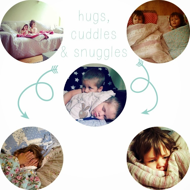 hugs cuddles and snuggles