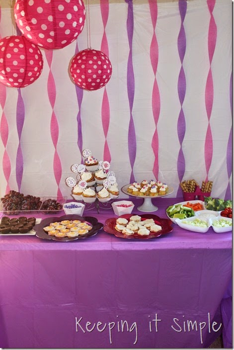 Little Girl Birthday Party Ideas Tea Party With Different Stations