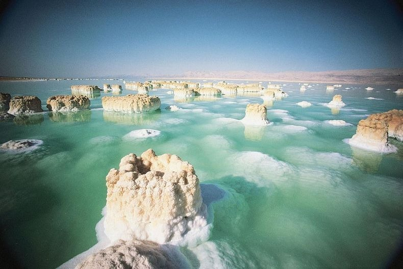Image result for salt formation dead sea