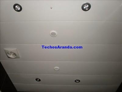 Falsos techos de aluminio Alcobendas