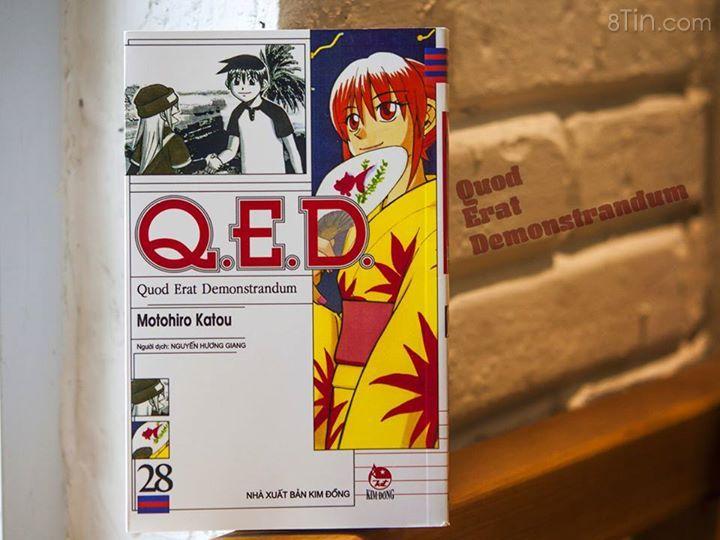 QED Tập 28 phát hành sáng mai Thêm một cuốn truyện là