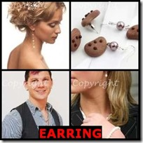 EARRING- 4 Pics 1 Word Answers 3 Letters