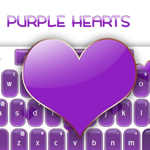 紫心勳章鍵盤 LOGO-APP點子