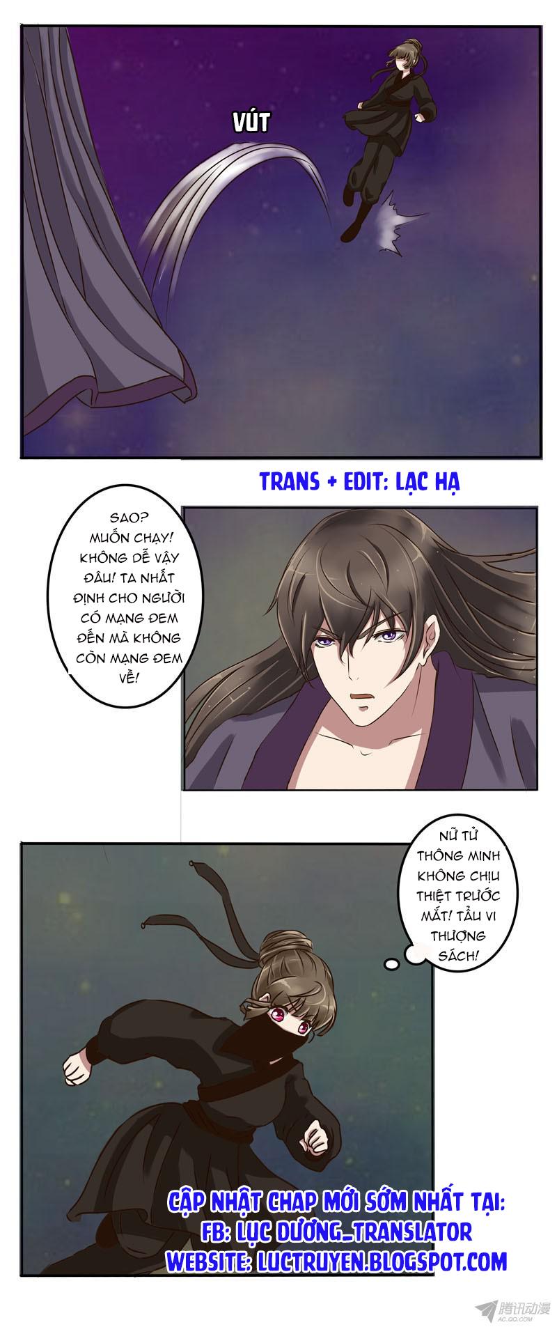 Thông Linh Phi Chap 013