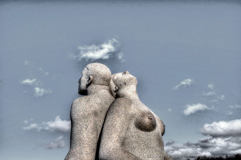 Vigeland park statues Oslo