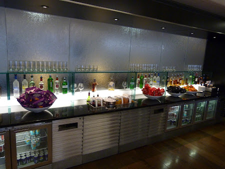 Business lounge T3 London