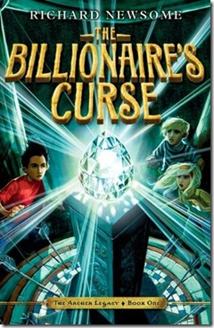 book cover of The Billionaire's Curse by Richard Newsome
