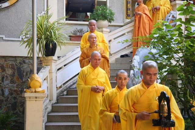 IMG 1681 Đại lễ Phật đản PL 2557 tại Tu viện Quảng Hương Già Lam