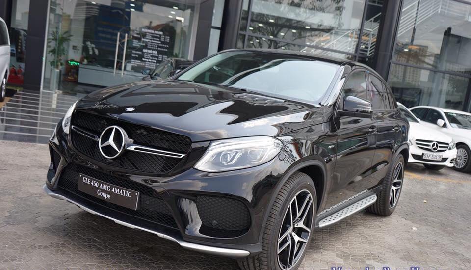 Xe Mercedes Benz GLE 450 2017 Coupe 03