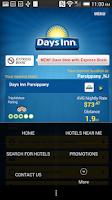 Screenshot of Days Inn
