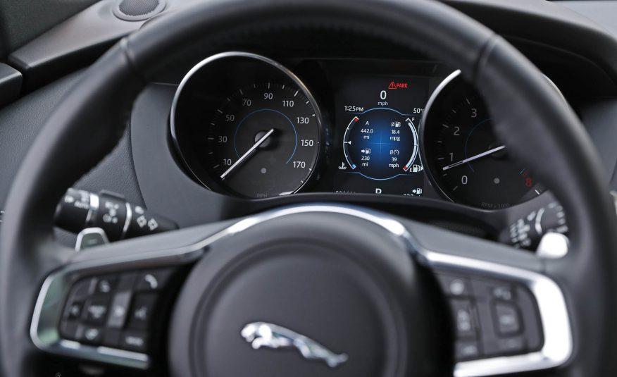 Nội thất xe Jaguar F Pace new model 06